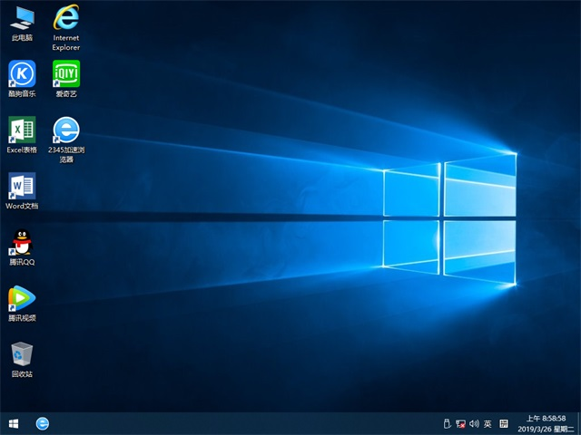 雨林木风windows10专业版32位下载系统v1904(3)