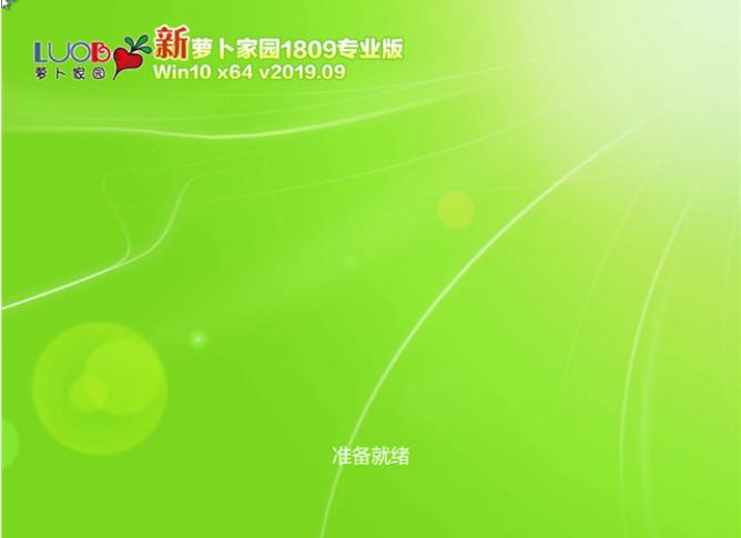 64位新萝卜家园Win10专业版1809系统下载V201909
