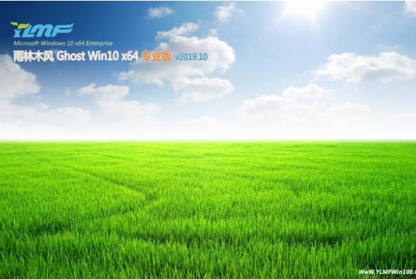 雨林木风Win10 64位万能专业版系统V2019