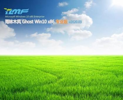 雨林木风Ghost Win10专业版X86v2020.03
