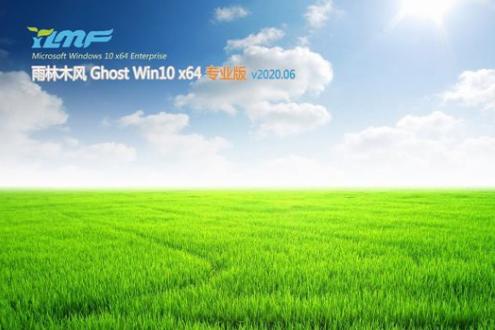 雨林木风 ghost win10 专业版 X64 V2020.06