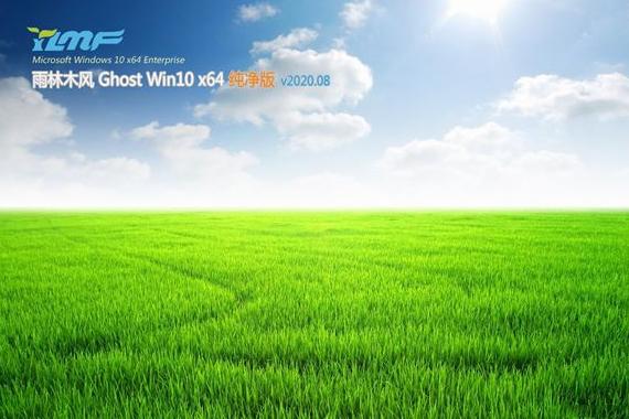 雨林木风 win10 ghost 纯净版 32位系统 V2020.08