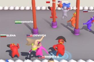 抖音里扔人的游戏叫什么 抖音Partyio扔人游戏玩法介绍